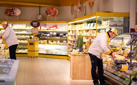 Medewerker kaas en zuivel